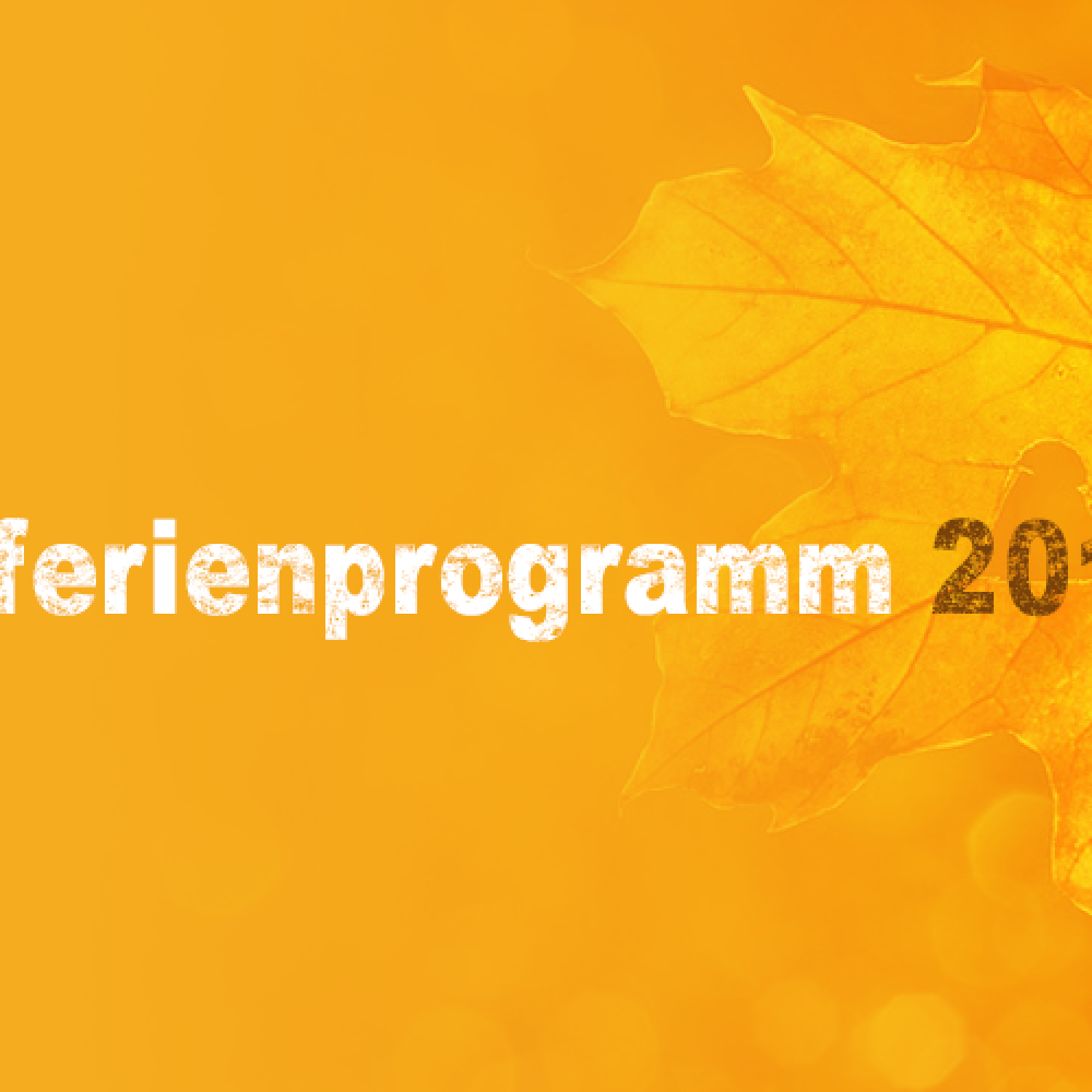 Herbstferienprogramm 2018