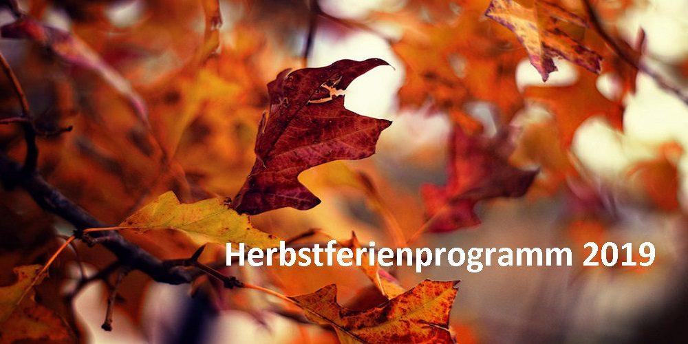 Herbstferienprogramm 2019